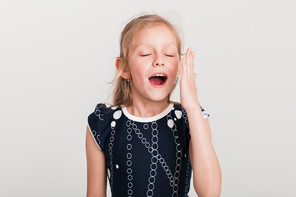 Crianças com dermatite atópica dormem mal
